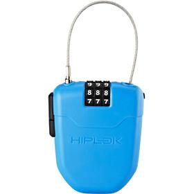 Hiplok FX Cijfer Kabelslot met reflector, blauw